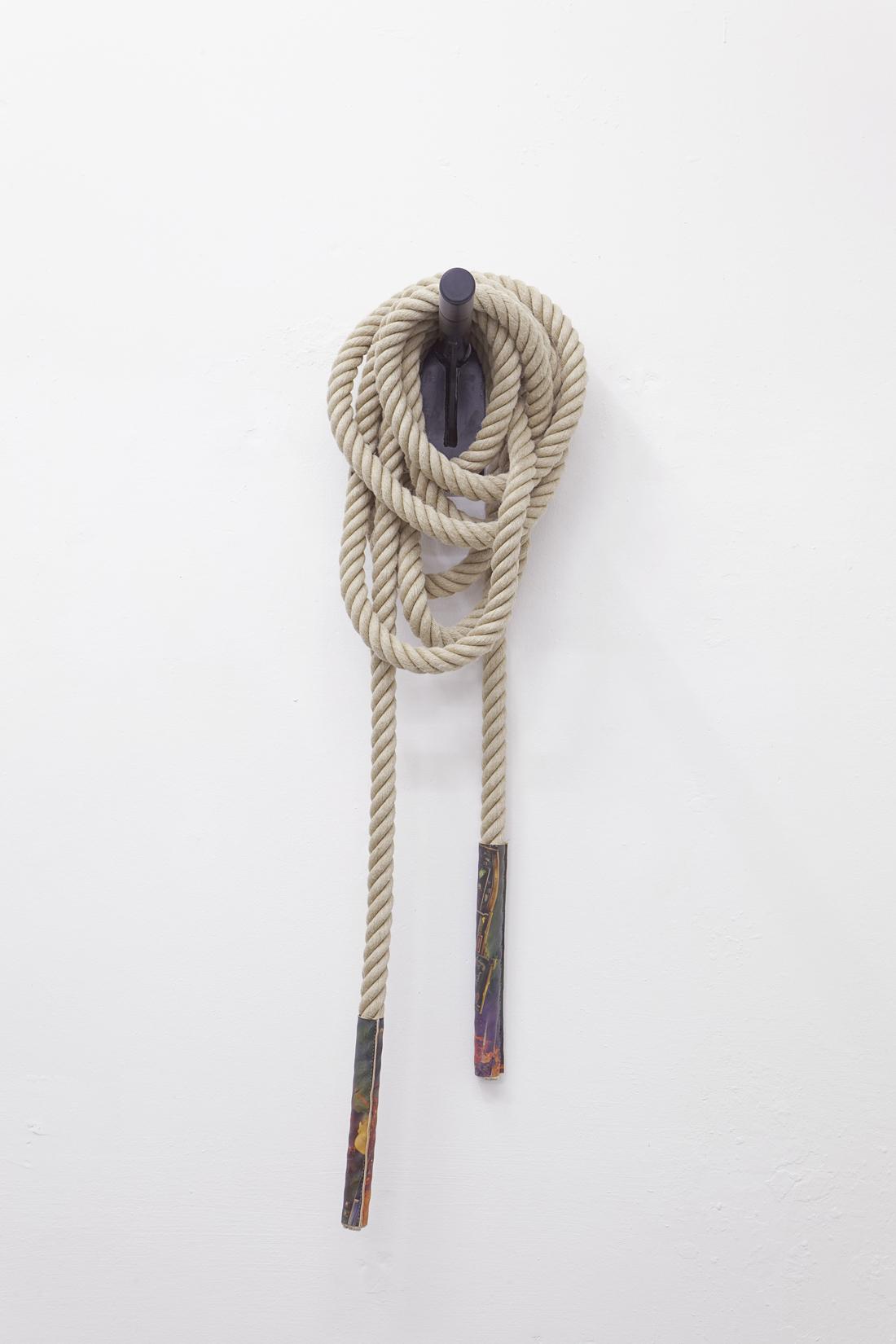 Techies-#11,-Hemprope,-c-print-on-leather,-steel